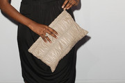 Sara Nuru Leather Clutch