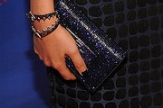 Alyssa Diaz Metallic Clutch
