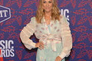 Sheryl Crow Sheer Top