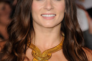 Danica Patrick Gold Statement Necklace