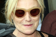 Deborra-Lee Furness Oval Sunglasses