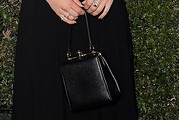 Dianna Agron Leather Purse