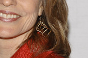 Donna Hanover Gold Dangle Earrings