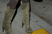 Shawn King Knee High Boots