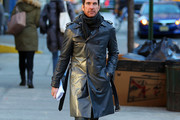 Dylan McDermott Trenchcoat