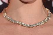 Olivia Thirlby Diamond Collar Necklace