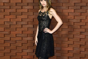 Lily-Rose Depp Lace Dress