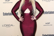 Abigail Breslin Cutout Dress