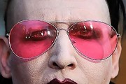 Marilyn Manson Aviator Sunglasses