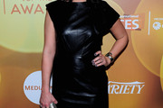Beth Dover Leather Dress