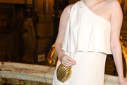 Karen Elson Metallic Shoulder Bag