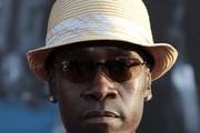 Don Cheadle Straw Hat