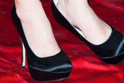 Angela Kinsey Platform Pumps