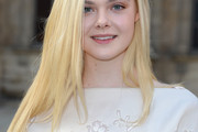 Elle Fanning Layered Cut