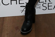 Busy Philipps Combat Boots