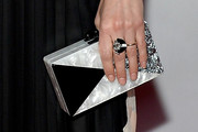 Emily Deschanel Box Clutch