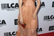Mena Suvari Strapless Dress