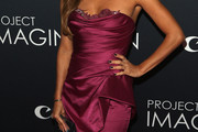 Eva Longoria Strapless Dress