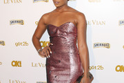 Eva Pigford Strapless Dress