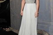 Evangeline Lilly Evening Dress