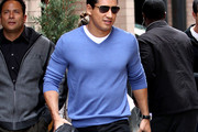 Mario Lopez V-neck Sweater