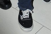 Cole Sprouse Canvas Sneakers