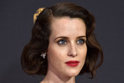 Claire Foy Curled Out Bob