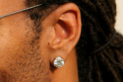 Larry Fitzgerald Diamond Studs