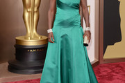 Viola Davis Strapless Dress