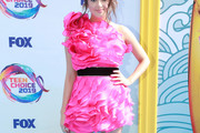 Laura Marano One Shoulder Dress