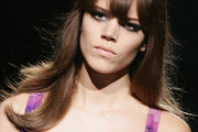 Freja Beha Erichsen Long Straight Cut with Bangs