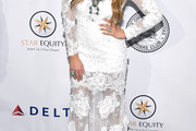 Alisan Porter  Lace Dress