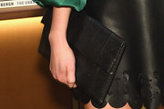 Katrina Bowden Leather Clutch