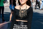 Carly Rose Sonenclar Crop Top