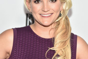 Jamie Lynn Spears Loose Ponytail