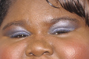 Gabourey Sidibe Bright Eyeshadow