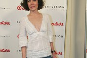 Lara Flynn Boyle Fitted Blouse