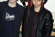 Moises Arias Leather Jacket