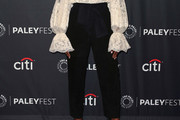Tika Sumpter High-Waisted Pants
