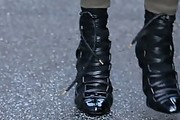 Kourtney Kardashian Lace Up Boots