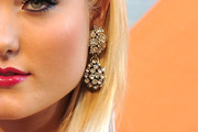 Hayley Amber Hasselhoff Dangling Diamond Earrings