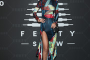 Toni Garrn Print Dress