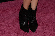 Michelle Chiklis Ankle Boots