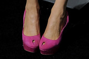 Charlotte Ross Peep Toe Pumps
