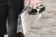 Coco Rocha Leather Clutch