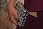 Vanessa Marano Metallic Clutch