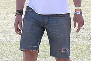 Eric Balfour Denim Shorts