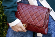Dree Hemingway Quilted Clutch