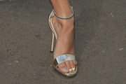 Ella Purnell Evening Sandals