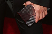 Jeannie Mai Metallic Clutch